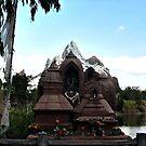 Mountain Temple by terrebo