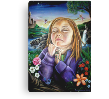 Dreaming Bliss Canvas Print