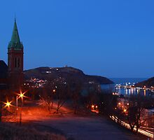 Twilight - Harbour Lights by Brian Carey