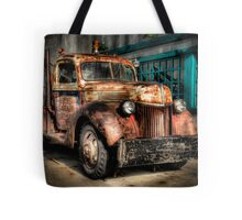 Buck's Garage Tote Bag