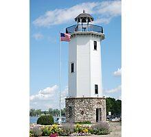 Fond Du Lac Lighthouse Photographic Print