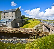 Weisdale Mill, Shetland Islands, Scotland by Del419
