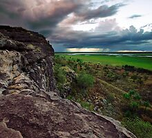 Ubirr Rock by earthairfire