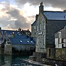Lerwick Waterfront, Shetland Islands, Scotland by Del419