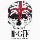 Nigel Leisure Wear - Skull and Union Jack by Fitcharoo