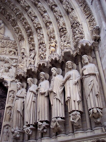 Entrance of Notre Dame by CherylBee