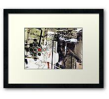 The Poet Writes Framed Print