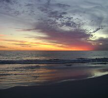 Mullaloo Beach Sundown by Mel Clarke