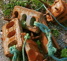 Rusty Anchors by Orla Cahill