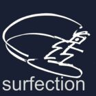 surfection logo tshirt by wick