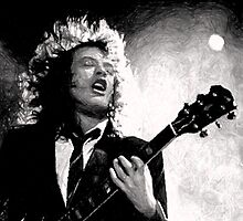 Angus Young by mobii