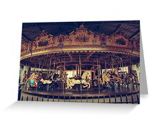 Carousel #1 Greeting Card