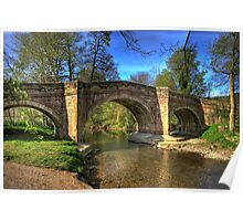 The Bridge near Scawton,North Yorkshire Poster