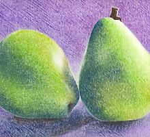 Green Pears by misschris