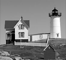 Cape Neddick Lighthouse by Donnie Shackleford