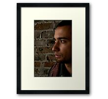 Model shot 6 Framed Print