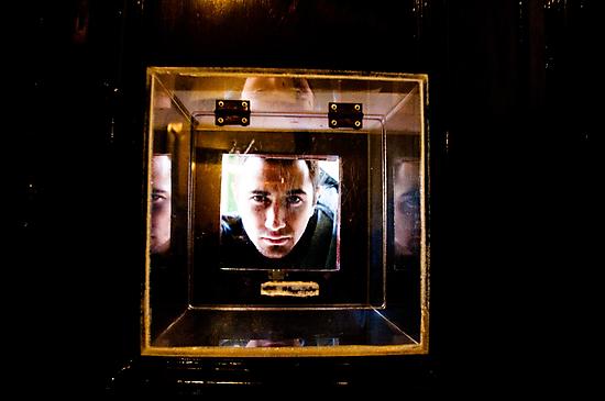 Model shot 10 - Stuck in a box by David Petranker