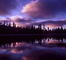 Silver Lake Sunrise by Kurt Golgart