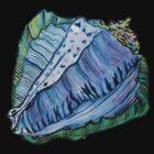 Rainbow Conch Tee by cardiocentric