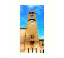 UWA Clock Tower Art Print