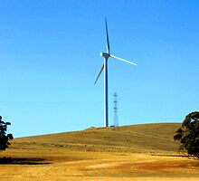 Wind Turbine by JuliaWright