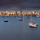 Blustery Melbourne by Alistair Wilson