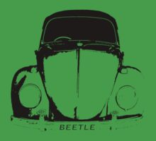 VW Beetle Shirt - Black by melodyart