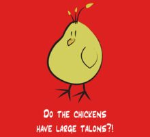 Do Chickens have Large Talons? by clr86