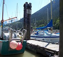 """""""B"""" for boats maybe..... by littlestmonkey"""
