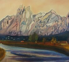 Organ Mountain  by Diane (Dee) Duran
