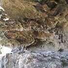 Roof of the rocky cave  by faulsey