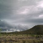 Storm clouds over the hills by faulsey