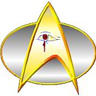 Star Trek Next Generation Archaeology Dept. Logo/Commbadge by KirneH001