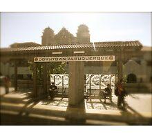 Next Stop Albuquerque, Albuquerque in April Series 2009 Photographic Print