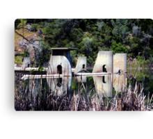 Dam Top Canvas Print