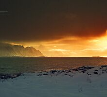Winter at Lofoten Islands by Andreas Stridsberg