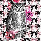 Harriette the owl by Tiffany Atkin