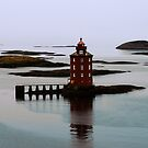 Kjeungkjer lighthouse II by Per E. Gunnarsen