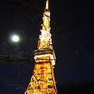Tokyo Tower by d4ndy
