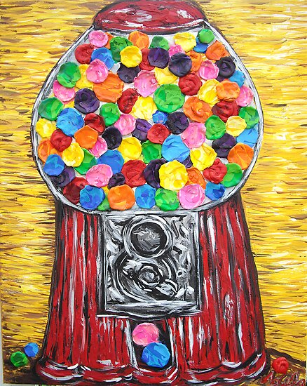 """Bubblegum Machine"" by Adela Camille Sutton"