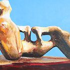 Study from Henry Moore-Reclining Figure:Holes-1976-78 by Josh Bowe