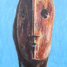 Study From Henry Moores-Head 1984 by Josh Bowe