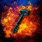 Door#8..The Key by  Janis Zroback