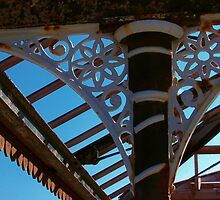 Wrought Iron Decorative Detail by Orla Cahill