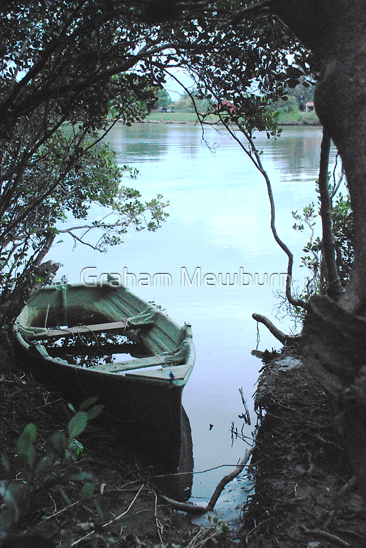 Mangrove mooring by Graham Mewburn