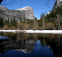 Mt. Watkins ~ Mirror Lake, Yosemite  by Patty Boyte