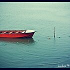 Lone Boat by sandy1984