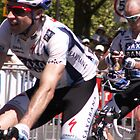 Jens Voight and Stuart O'Grady Tour down under 2009 by Tracey Pearce