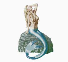 Mermaid on the Rocks Kids Clothes