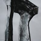 Study From Henry Moores-The Arch 1969 by Josh Bowe